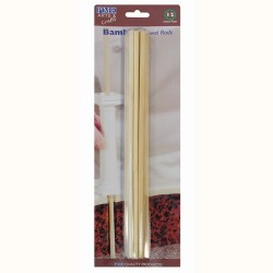 Bamboo sticks to support bottom plates for cakes x 12 PME