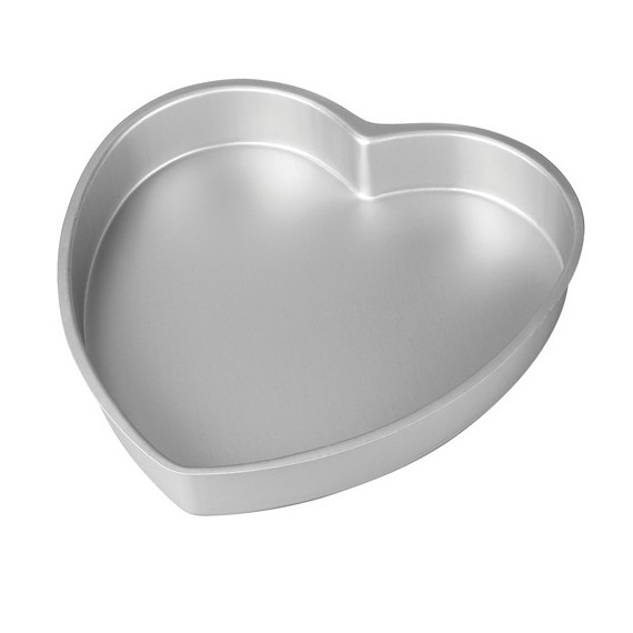 Heart Shaped Aluminium mould  5.9 in. Wilton**