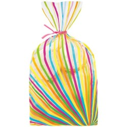 Multicoloured Striped Sachet Wilton