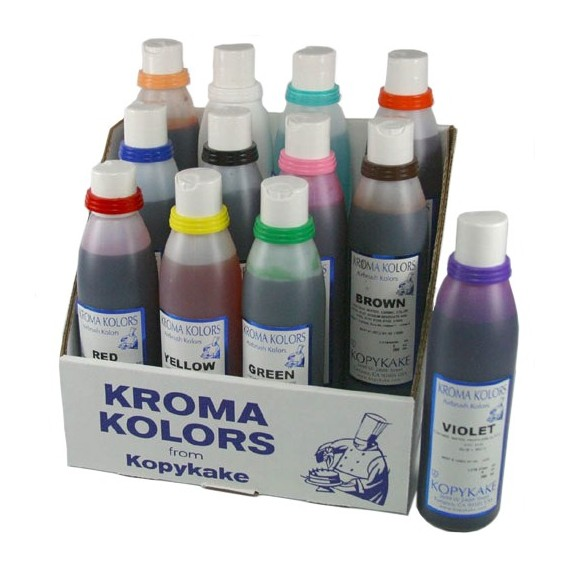 12 Colorants aérographe Kroma