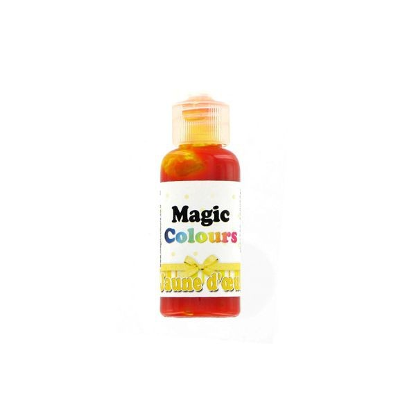 Colorant Alimentaire Gel JAUNE OR Magic Colours