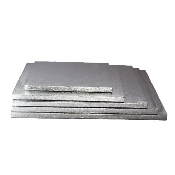 Thick Silver colored square sole 8.66 in.